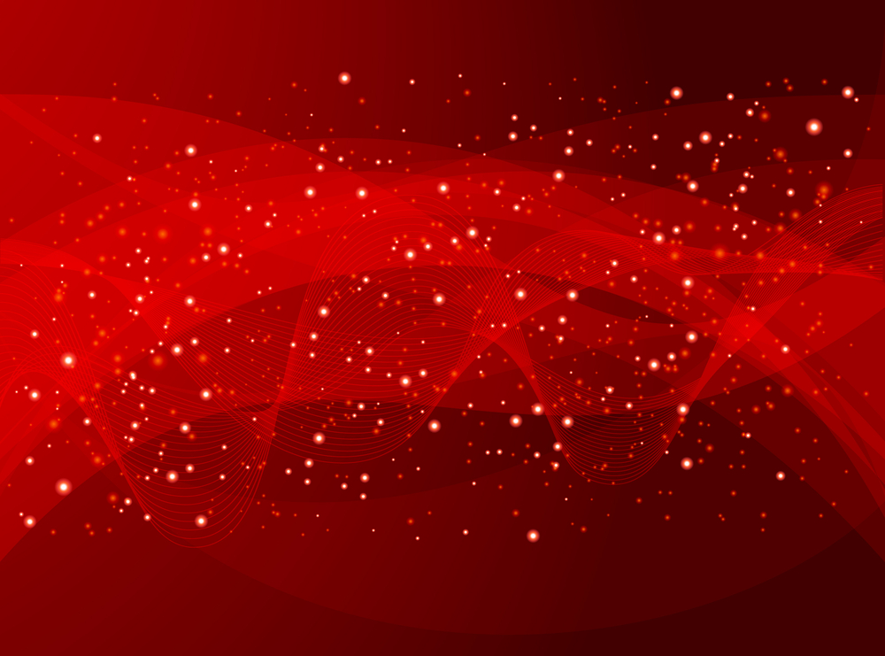 red-abstract-background